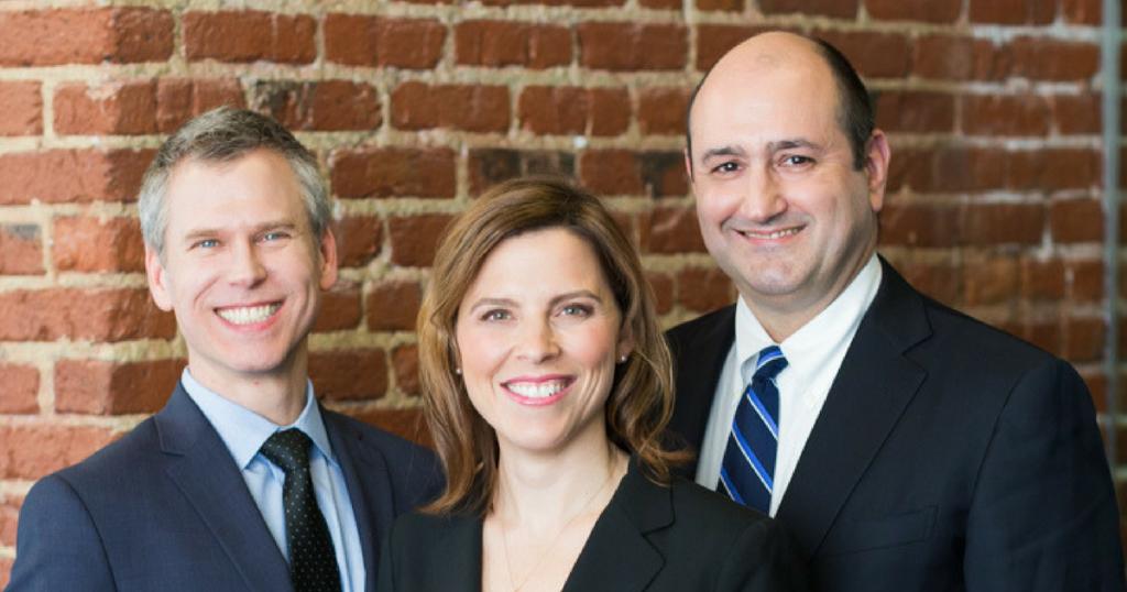 Dr. Zegzula, Dr. O'Brien and Dr. Popowich